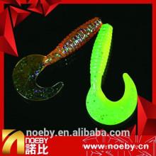 7cm grub приманка морской окунь приманки пластиковые удочки