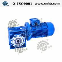 Reductor de engranajes helicoidales Nmrv30-130 para aplicaciones de equipos industriales