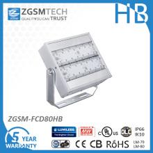 40 bis 480W High Lumen LED Strahler mit 85V bis 480VAC für Outdoor-Stadion Platz