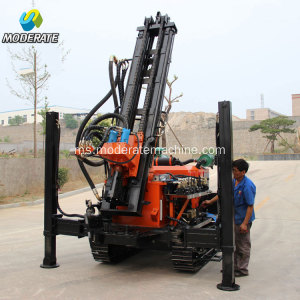 180 Hidraulik Crawler Type Water Well Drilling Rig