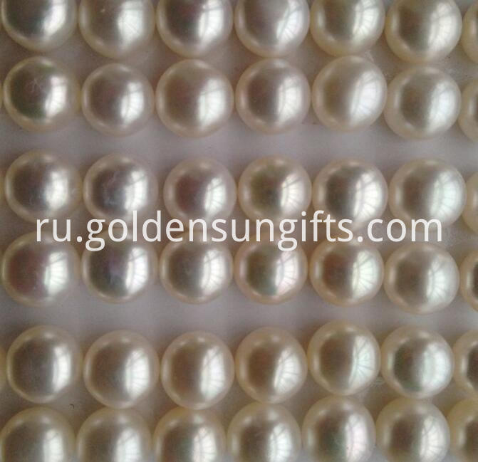 7.5-8mm White Pearl Loose Beads