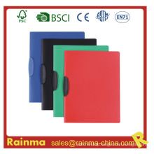 PP Material Rotary Clip File Folder