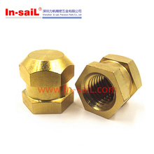 DIN 16903 Brass Nuts 3.5mm