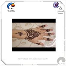 Indian Henna Stencil Tattoo Etiqueta, Design de Moda e Alta Qualidade com baixo preço