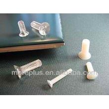 Fabriqué à Taiwan Screw en plastique Vis à tête plate Phillips