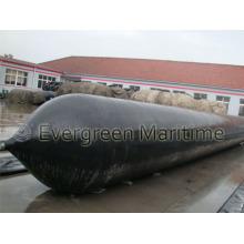 2.0 m X 20 m X 10 capas de lanzamiento de Marine Airbags utilizadas en The Shipyard, Engineering Fields, PT. Sg, propietarios de barcos, edificios de barcos