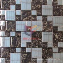 48*48mm Glass Mix Metal Mosaic (CFM881)