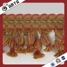 Hot Sale Tassel Fringe Trims For Curtain Decorative Curtain Lace Machine Manufacturing Tassels