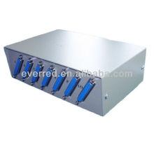 DB25 6Port Manual Data Switch Box (ERC368)