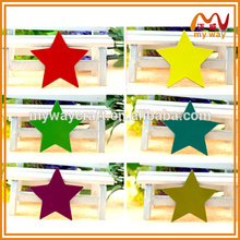 colorful shiny personalized star fridge magnets for sales promotion