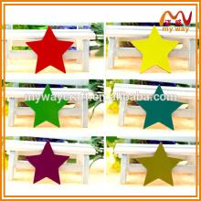 Красочные блестящие персонализированные магниты для холодильников звезды для стимулирования сбыта