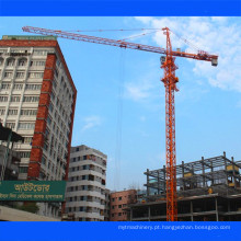 Guindaste de torre Qtz exportado para Bangladesh De Tavol, China