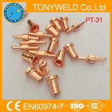 PT31 Pièce de rechange de coupe plasma et électrode