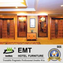 Painel de parede de interiores luxuoso do hotel de design (EMT-F1214)