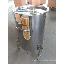 Stainless Steel 200L Wine Barrels with Wheels