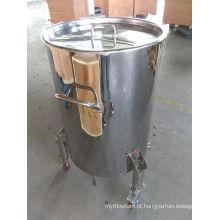 Aço Inoxidável 200L Barris de Vinhos com Rodas