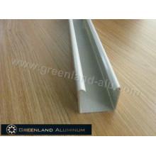 Pista de cortina de alumínio Fexible para a área da janela com revestimento do pó