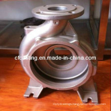 Stainless Steel Lost Wax Precision Casting Pump Shell