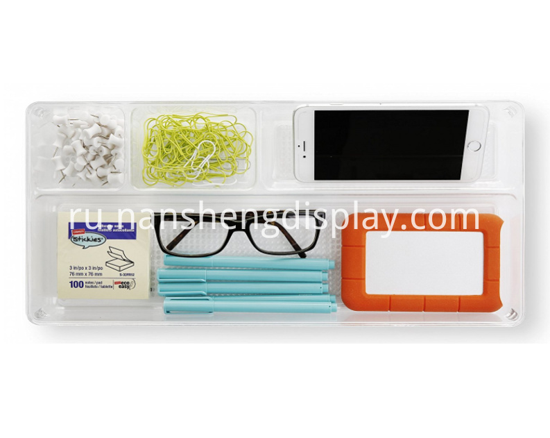 Multi-Purpose Plastic Drawer Organizer