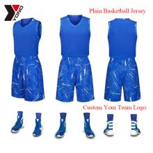 Camiseta de deporte al por mayor del desgaste del baloncesto de la impresión del jersey del baloncesto de encargo al por mayor 100% poliéster