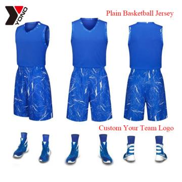 Wholesale Basketball Jersey Custom Print Basketball Wear Man Sport Shirt 100% Polyester