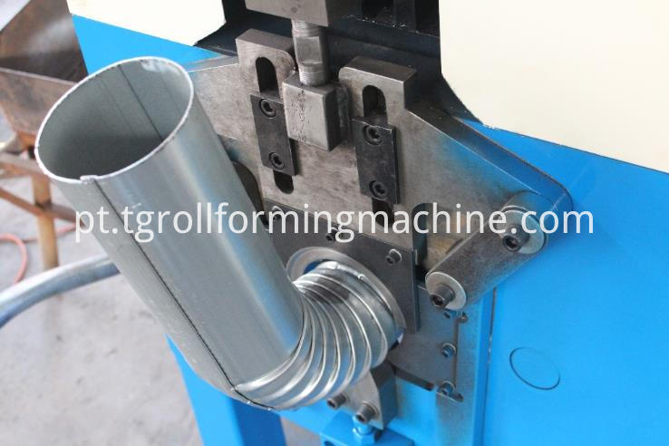 Steel Downspout Forming Machine
