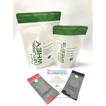 2017 Heat Sale Whey Protein Verpakking Bag