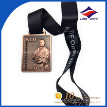 Cheap custom 3d KDF souvenir metal medal maker