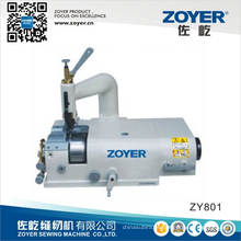 Máquina de doces couro com faca Circular Zoyer máquina de costura (ZY801)