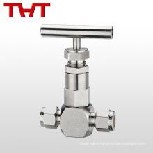 """1/8"""" stainless steel NPT needle valve"""