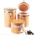 Bamboo Sealed Storage Bottle & Jar