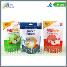 Stand up Pet Food Packaging Bag with Zipper