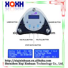 Matériel de tatouage permanent numérique Matériel de tatouage Alimentation LCD, appareil de contrôle de puissance de stylo de tatou de sourcil