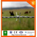 Barbed wire length per roll / weight barbed wire/ barbed wire weight per meter
