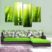 Quatre panneaux Peinture à l'huile sur toile Groupe d'abstraction