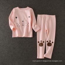 automne automne enfant vêtements filles vêtements décontractés costume veste et pantalon ensemble pour les enfants