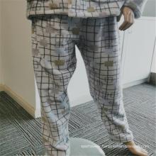 Elegant 100% Polyester Women's Indoor Sleepwear pants