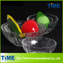 Crystal Clear Glass Salad Serving Bowls (15033102)