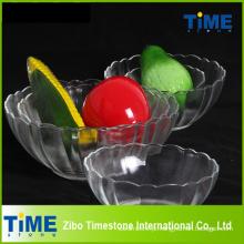 Salada de vidro cristalino servindo tigelas (15033102)