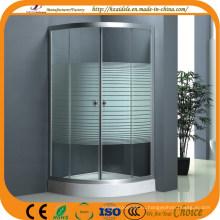 Корпус 4мм полоса стеклянная душевая сектор (АДЛ-8012C)