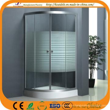 Стеклянный душевой шкаф (ADL-8012C)