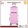 Colorido de moda fuerte fuerte viaje Trolley 4 ruedas equipaje conjunto