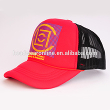 2015 mesh trucker hat and cap with embroidery LOGO