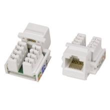 Ethernet-адаптер Медный 8-контактный 3M CAT6 CAT5e FTP Шлейф Keystone VOL-OCK6-U8 со шторкой