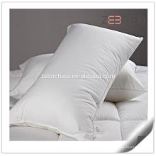 Super suave 1200g microfibra de relleno personalizado rey cama mejor hotel almohadas