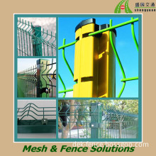 PVC/Powder Coated+Galvanized Welded Wire Mesh Fence Panel