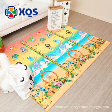 Cheap price heavy metal free baby play gym mat non-toxic