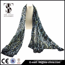 2015 impresso multi lenços de senhora de leopardo coloridos viscose