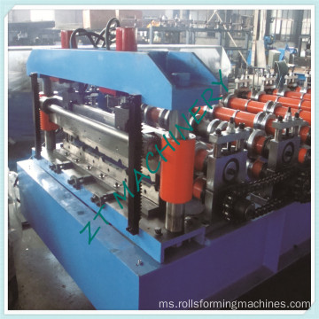 Aluminium Steel Panel Boltless Roof Roll Forming Machinery