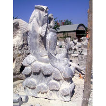 Lovely Fish Stone Carving